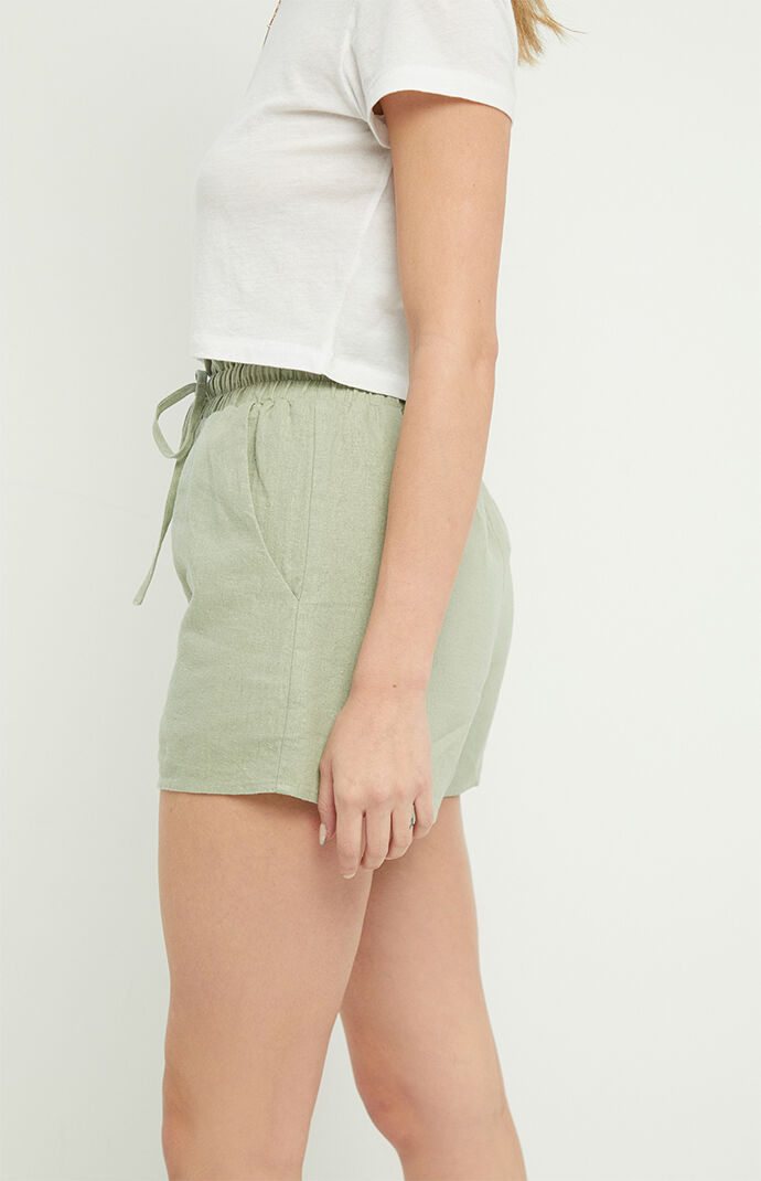 Smocked Pull-On Shorts