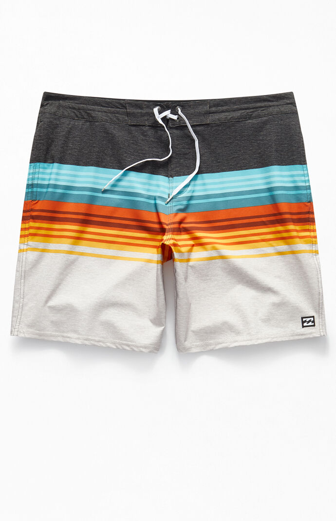 "Multi Spinner LT 19"" Swim Trunks"