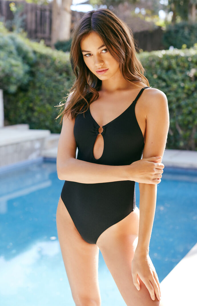 Mink Pink Loren Ring One Piece Swimsuit by Pacsun c1327e6463da