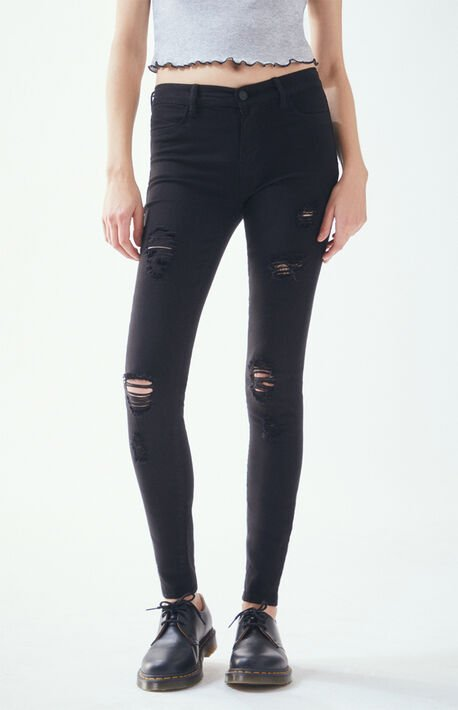 Slashed Perfect Fit Jeggings