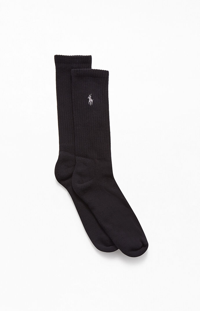 6 Pack Cotton Crew Socks