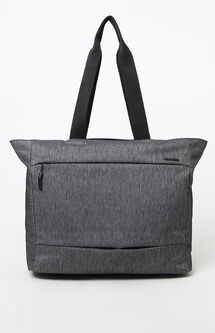 City Market Black Laptop Tote Bag