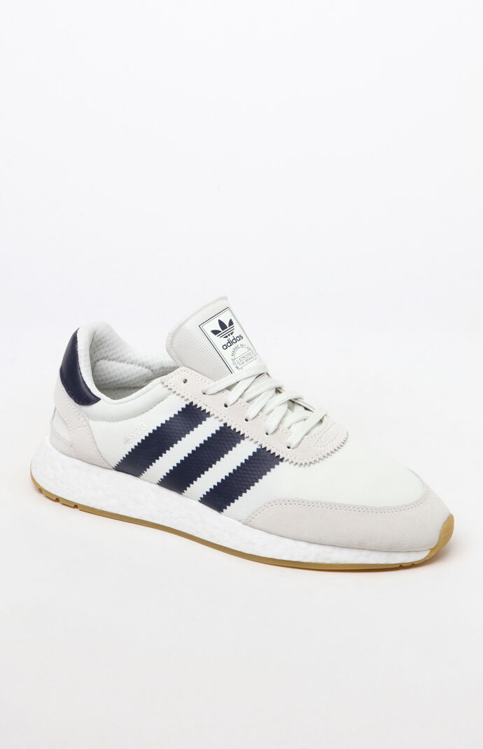 136da9401b3 adidas I-5923 White and Navy Shoes
