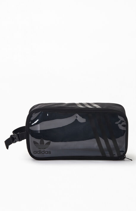 Original Clear 3-Stripes Shoe Bag