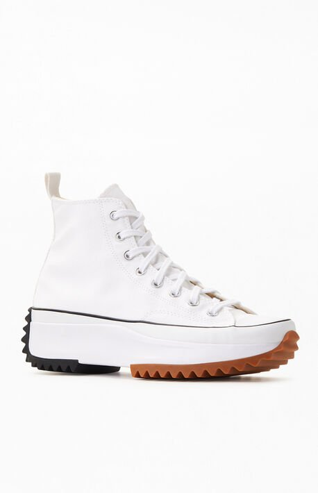 White Run Star Hike High Top Shoes