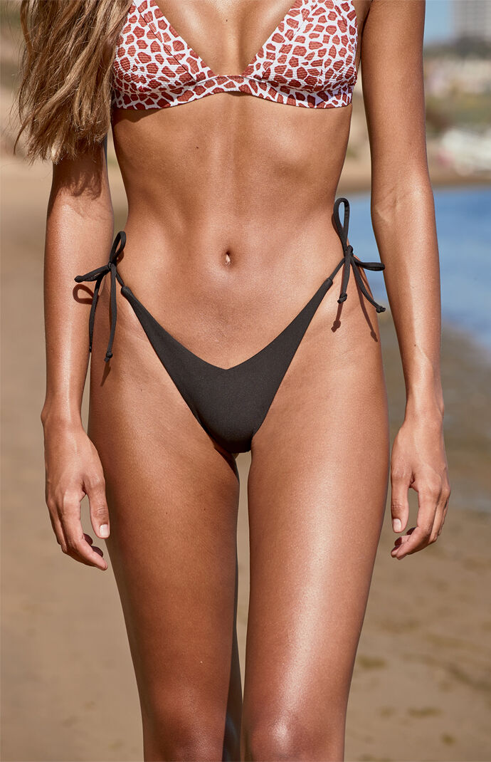 x Victoria Side Tie Bikini Bottom
