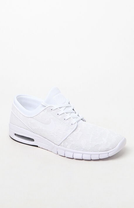 42d9ddb8c9 Stefan Janoski Max White Shoes