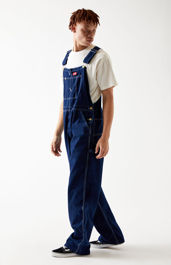 Dark Duck & Rinsed Bib Overalls