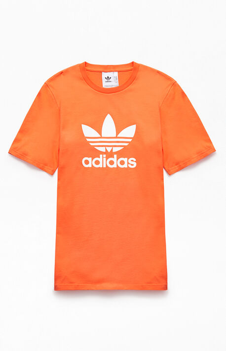 def5ea9227c Orange Trefoil T-Shirt