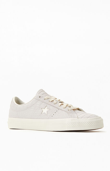 CONS Croc Emboss One Star Pro Shoes