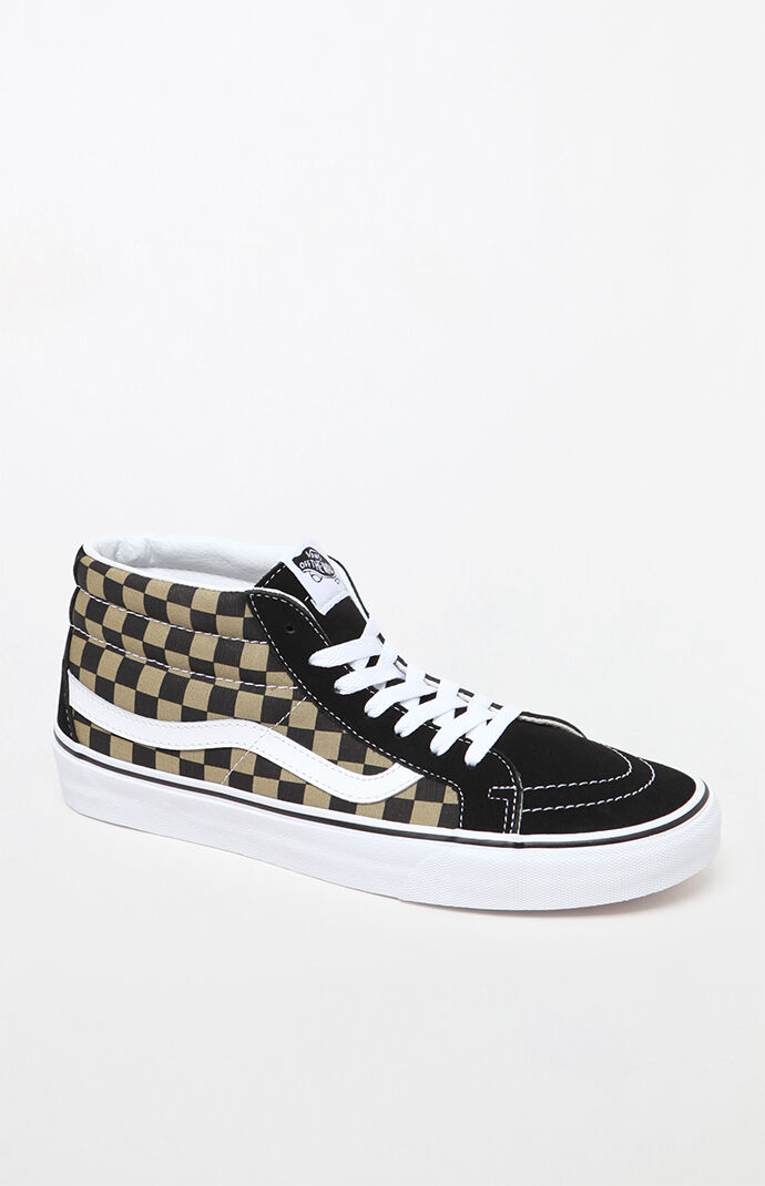 Sk8-Mid Reissue Checkerboard Shoes