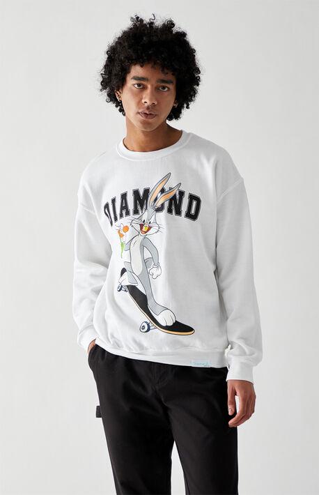 x Looney Tunes Bugs Skate Crew Neck Sweatshirt
