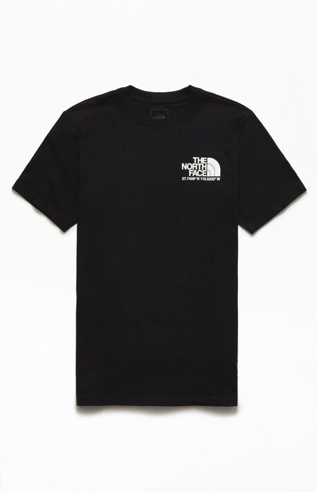 Black Coordinates Short Sleeve T-Shirt