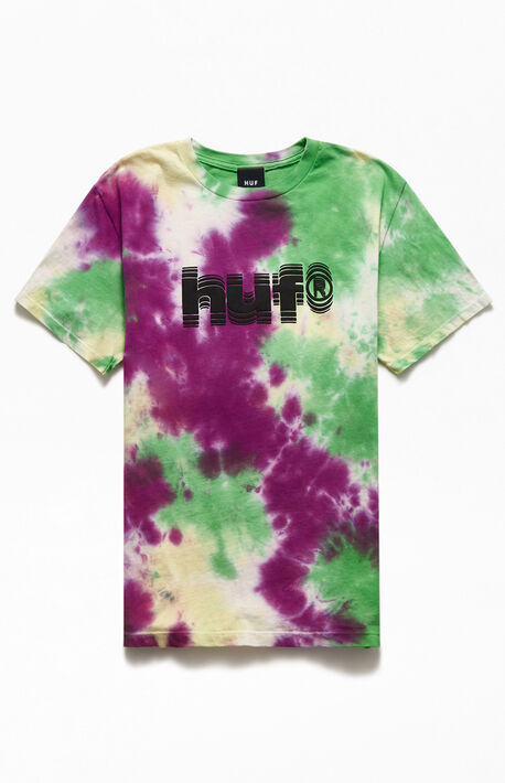 Tremor Tie-Dyed Short Sleeve T-Shirt