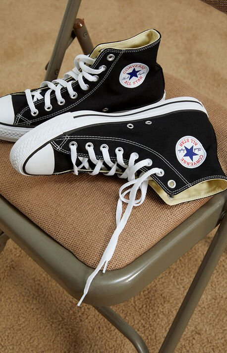 Chuck Taylor Black & White High Top Shoes