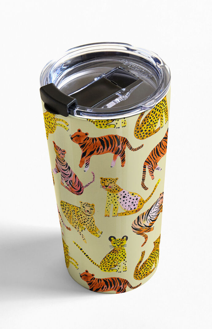 Safari Tigers Leopards Travel Mug