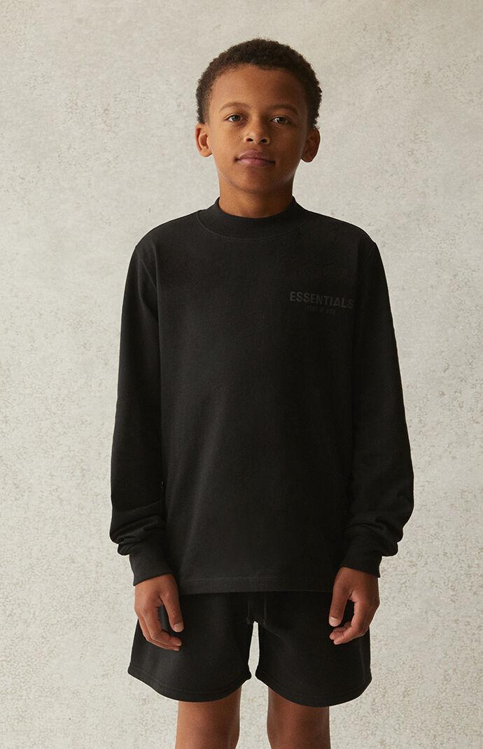 Essentials Black Long Sleeve T-Shirt
