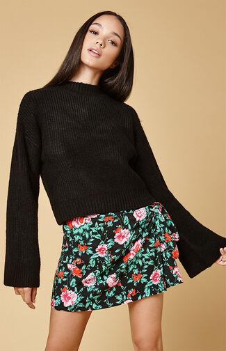 Jairo Tie Wrap Skirt
