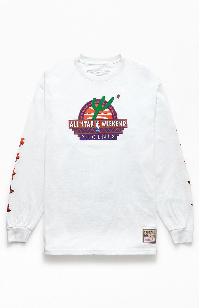 Rhinestone All-Star Long Sleeve T-Shirt