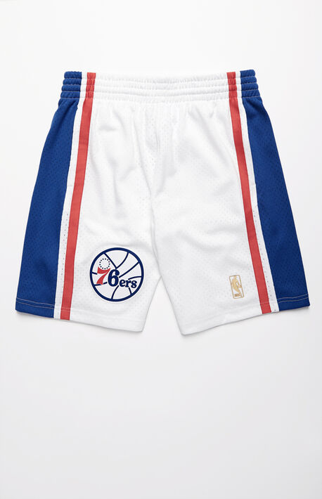 76ers Swingman Basketball Shorts