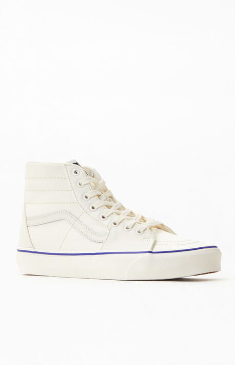 Cream SK8-Hi Tapered Sneakers