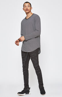 Drop Skinny Stitch & Repair Jogger Pants