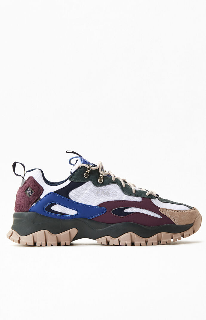 Red Purple & Black Ray Tracer TR 2 Shoes