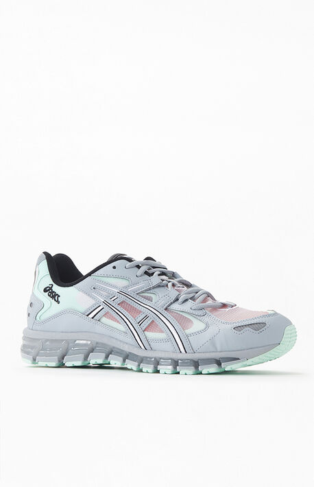 Gray & Mint Gel Kayano 5 360 Shoes
