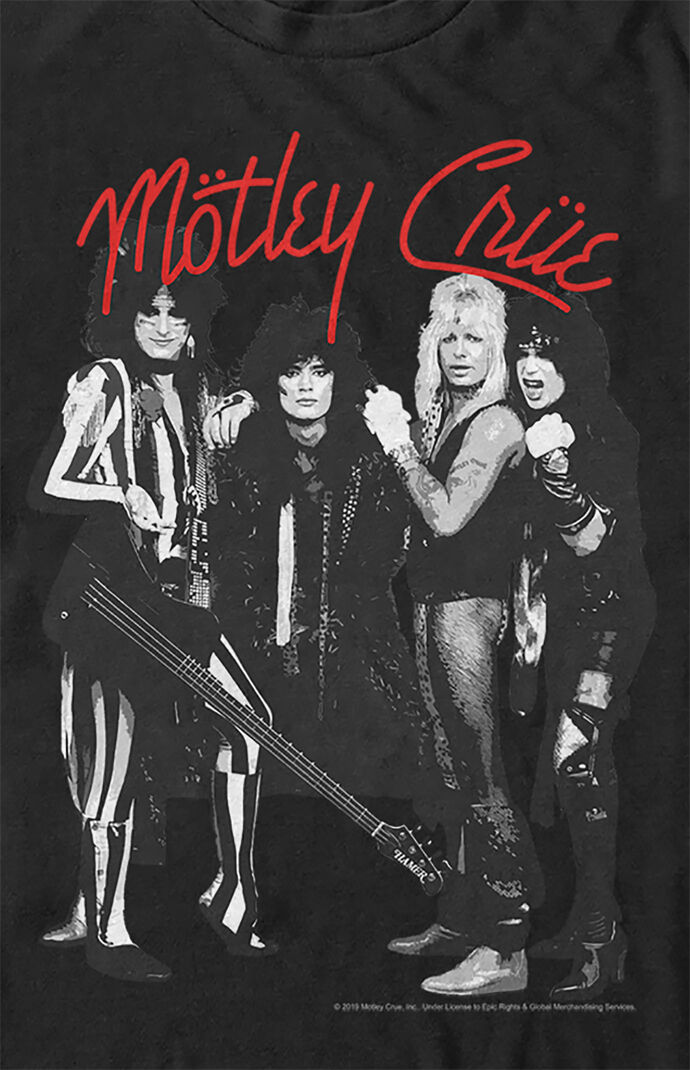 Motley Crue Group T-Shirt