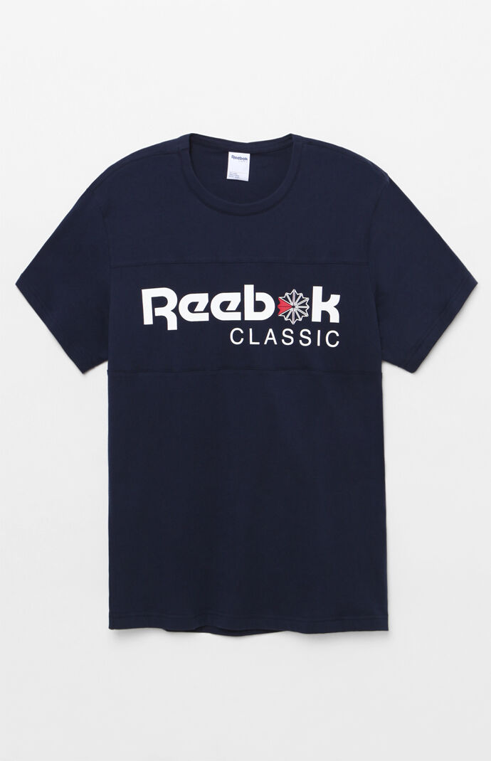 Reebok Mens Franchise Iconic T-Shirt - Navy 7936602