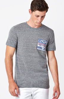 Rocky Tribal Pocket T-Shirt