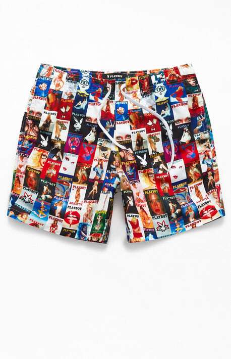 """By PacSun Collage 17"""" Swim Trunks"""