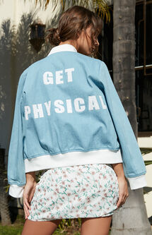Get Physical Bomber Jacket