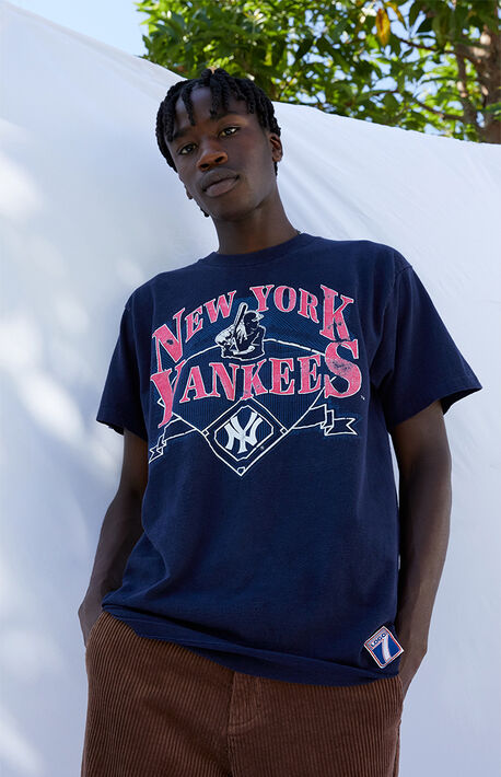 Upcycled Yankees T-Shirt