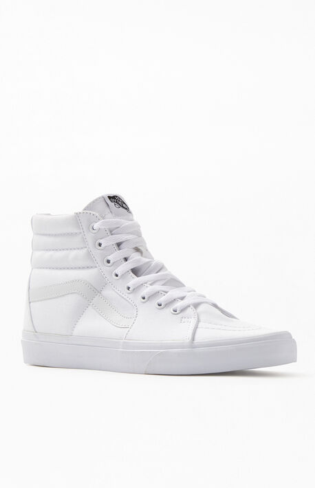 Sk8-Hi White Shoes