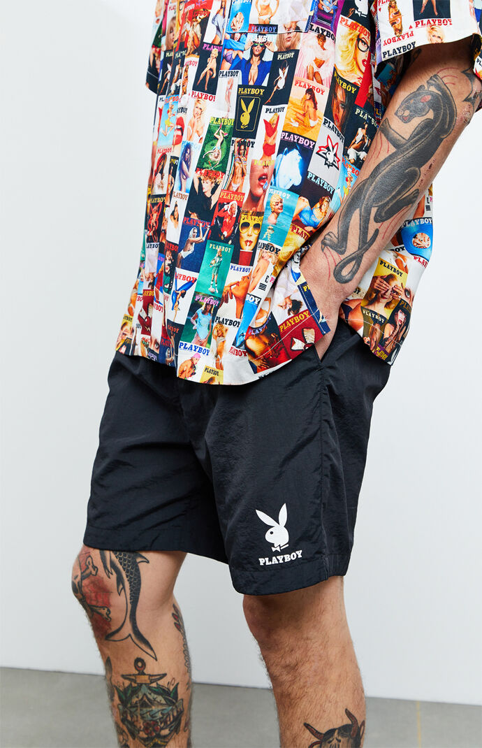 By PacSun Logo Nylon Shorts