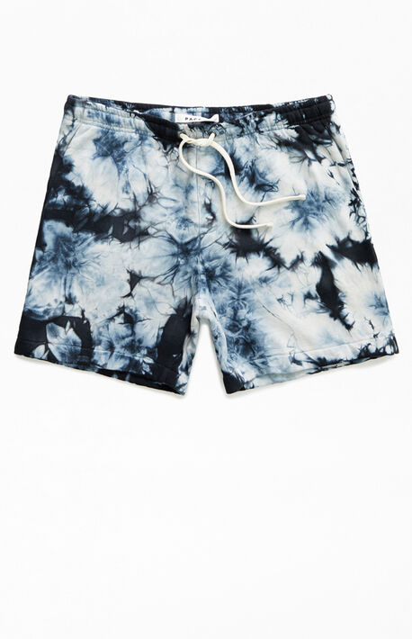 Tie-Dyed Volley Sweat Shorts