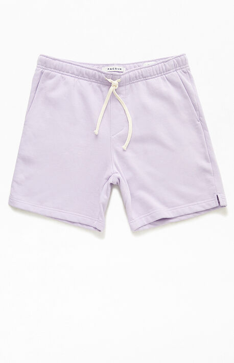 Orchid Pigment Volley Sweat Shorts