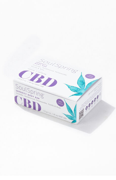 Serenity CBD Body Bar Soap