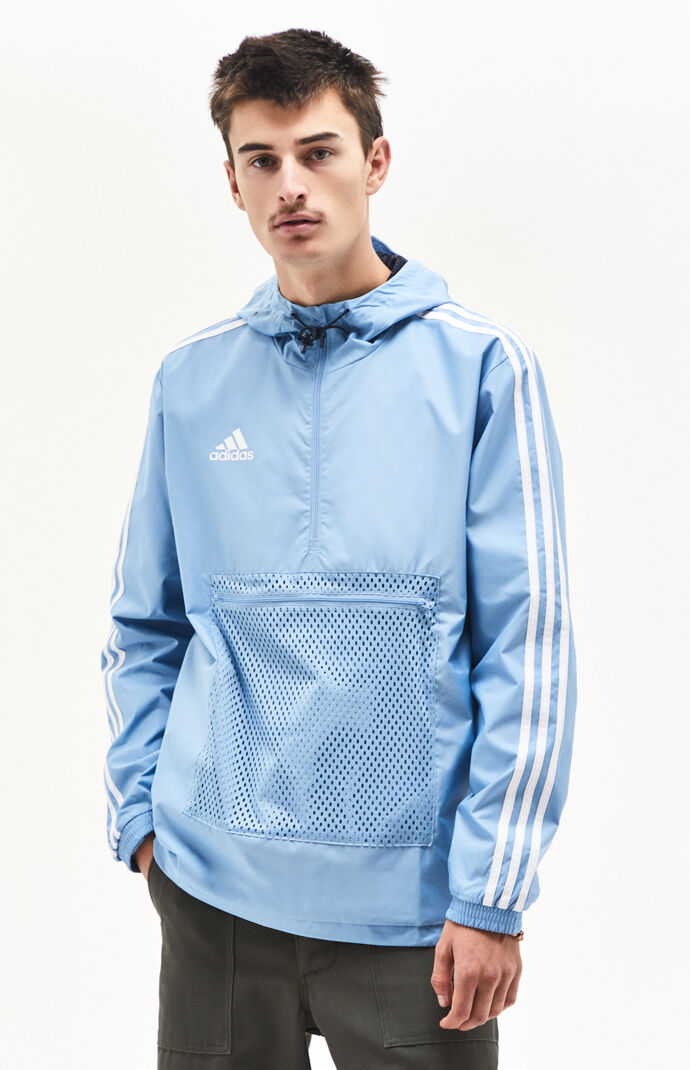 f85632a052f2 adidas Tango Light Blue Windbreaker