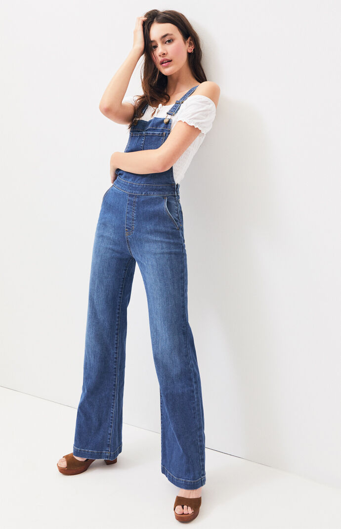 Jeanie Flare Overalls