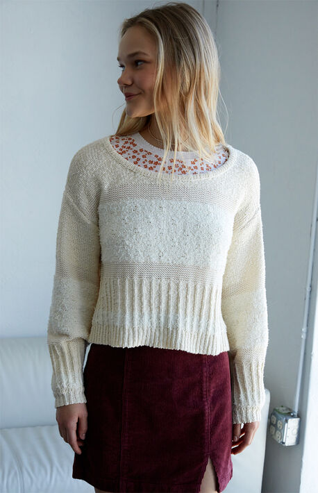 Mixed Business Sweater