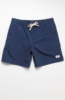 "Crane Solid 17"" Swim Trunks"