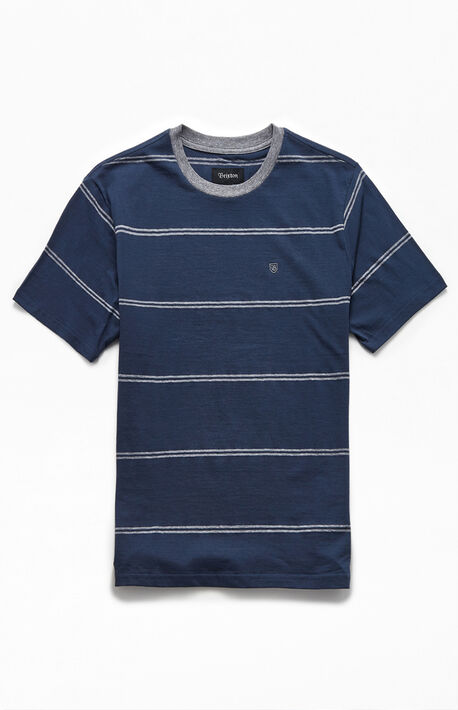 Navy Hilt Striped T-Shirt