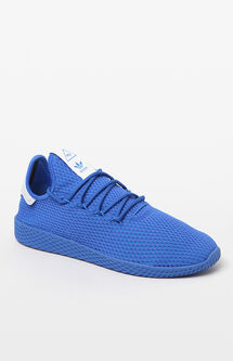 x Pharrell Williams Blue Tennis HU Shoes