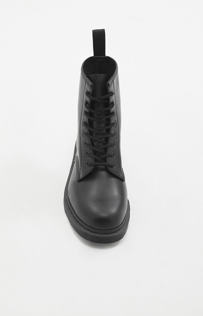 1460 Mono Leather Black Boots