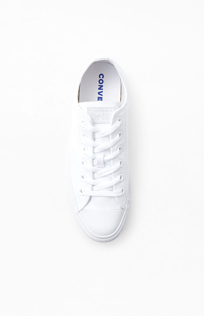 White Chuck Taylor All Star Ox Low Top Shoes