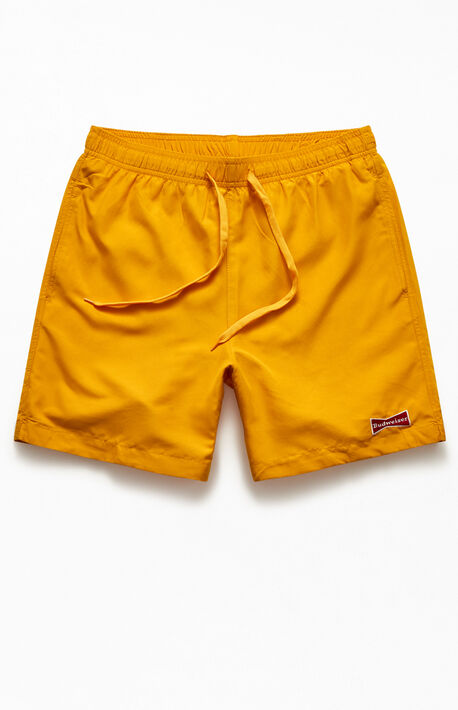 "By PacSun Logo Patch 17"" Swim Trunks"