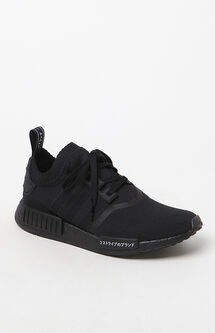 NMD_R1 Primeknit Black Shoes