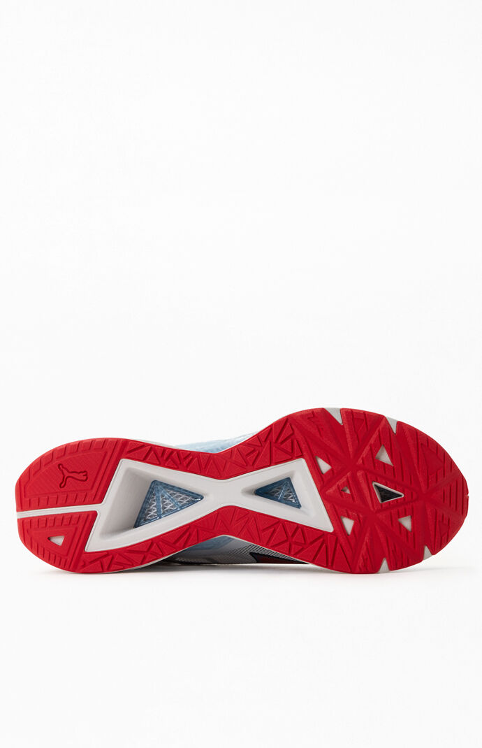 Gray & Red UltraRide Shoes